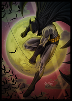 The Batman [Banner-less] by SamGreenArt