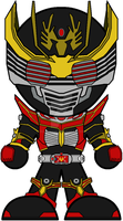 Chibi Kamen Rider Ryuki - Survive Mode by Zeltrax987