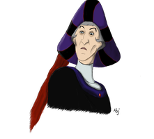 Claude Frollo by theLordStarscream