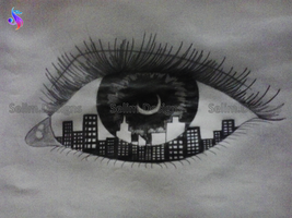 City In The Eye by SelimDesigns