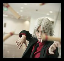 Black Suit Gokudera by Cvy