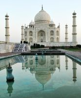 Taj Mahal reflected 3 by wildplaces
