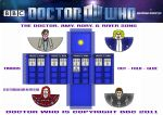 Doctor Who - Tardis Crew 2011 by mikedaws