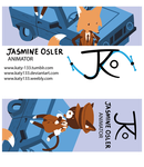 Business Card Design by Katy133
