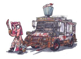 My Little Pony Friendships Is Twisted Metal by Sketchywolf-13