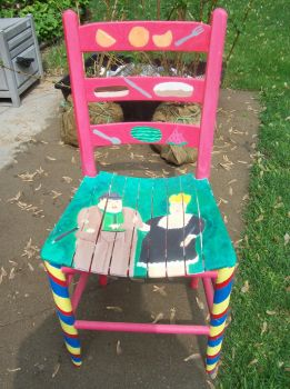 Fernando Botero Chair by spikerchick17