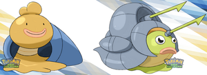 Fakemon - Chleamis and Chleacus by darside34