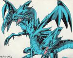 Blue-Eyes Ultimate Dragon by MrsFrenchFry