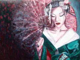Geisha Girl by JuneBelle