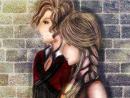 Luminescence~Andrew and Simone by SabrinaGallowix