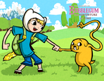 Wind Waker Style Finn and Jake by Bradshavius