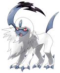 Pokemon Y: Absol by Smiley-Fakemon