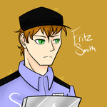 FNaF: Fritz Smith (my version) by YanderePrime