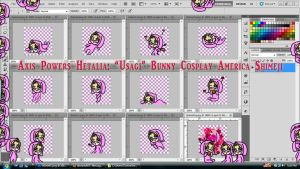 Hetalia: Bunny Cosplay America Shimeji Download by TionneDawnstar