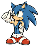 Sonic the hedgehog by Spice5400