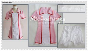 Vocaloid Miku Hatsune Nurse Cosplay Costume by miccostumes
