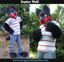 Zephyr Wolf Partial by JakeJynx