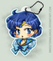 Eternal Sailor Mercury Keychains by ImHisEternalAngel