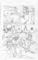 Amazing Spider-Man pencils 1 by ReillyBrown