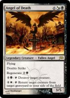 Angel of Death Magic Card by deathangel20