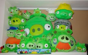 Bad Piggies collection as of 11.11.2012 by Gallade007