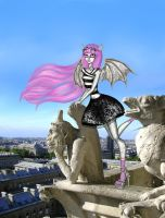 Monster High - Rochelle Goyle by LindaNoul
