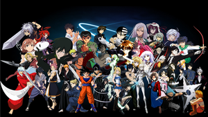 Ultimate Anime Rumble (Completed) by anonymousguy3