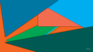 Colorful Material Design - by CFerraz by ClaudioFerraz