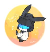 bunny J with special moon. by coo-coo-coo