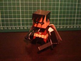 Robin Paper Toy by papertoyadventures