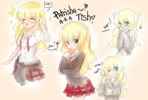 HS101 - sketches of patrisha by CamiIIe