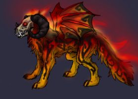 Hell hound for sale 3 by firedanceryote