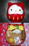 Hello Kitty bento by Shadowcat1986uk