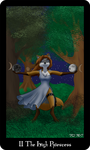The Vulpine Tarot - II The High Priestess by Mabon-Tail