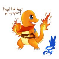 Charmander T-shirt Drawing by l-Helix-l