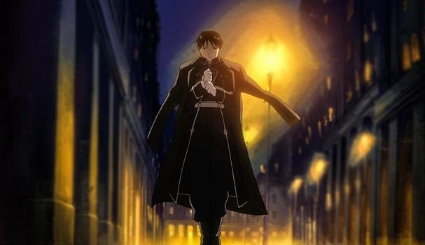 Wandering on the streets-Roy Mustang by Hamza0952454