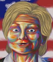 Hillary Clinton by Drimoryc