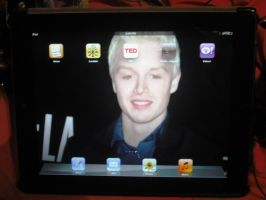 My iPad Screen by AgentBabycakes