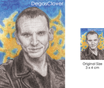 Nineth Doctor - Pencil Mini portrait by DegasClover
