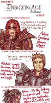 Dragon Age Meme Filled Out by freyah
