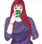 Ginger Selfie by Athane