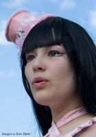Pink Lolita and and blue sky by Lovelyrosevampress