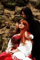 Lily Evans x Severus Snape by Matsu-Sotome