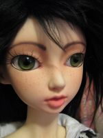 Shiela's new faceup by Sarinilli