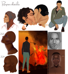 Reapers sketches by TheDivineMissM-94