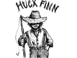 Huck Finn by CaptainArt