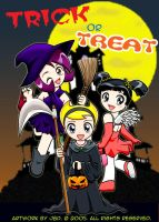 Mandy-Olga-Gaz: Trick or Treat by J8d