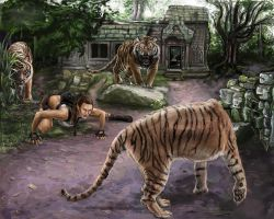 Crouching Tigers Hidden LARA by NightWish666