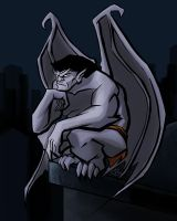 Goliath from 'Gargoyles' by litterbugger