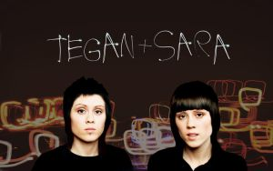 Tegan + Sara Wallpaper by australianmindy